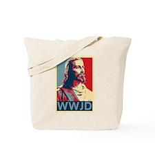 Jesus - WWJD Tote Bag