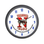 Blue NTC Wall Clock