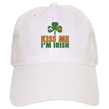 Kiss Me I'm Irish Baseball Baseball Cap