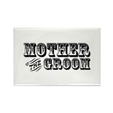 Mother of the Groom - Old West Rectangle Magnet