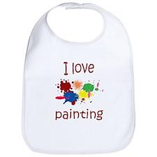 I love Painting Bib
