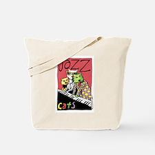 Cute Kids piano Tote Bag