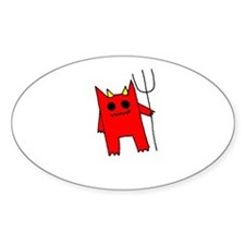 Red Devil Bumper Stickers