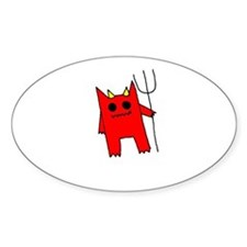 Red Devil Decal