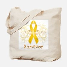Childhood Cancer Survivor Tote Bag
