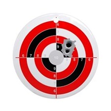 Target Shooting Ornament (Round)