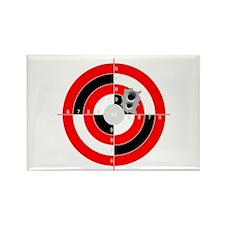 Target Shooting Rectangle Magnet