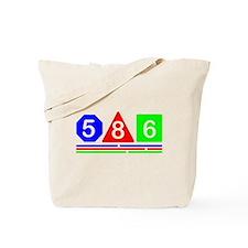 586 Modern design Tote Bag