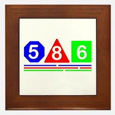 586 Modern design Framed Tile