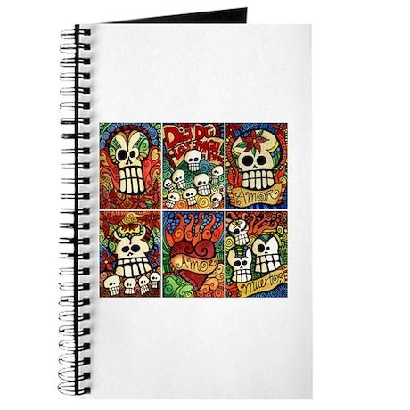 Day of the Dead Sugar Skulls Journal
