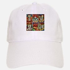 Day of the Dead Sugar Skulls Baseball Baseball Cap