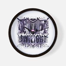 New Twilight Grunge Love Crest Wall Clock
