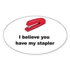 Stapler Decal