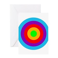 Colour Target Greeting Card