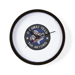 FBI San Antonio SWAT Wall Clock