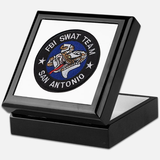 FBI San Antonio SWAT Keepsake Box