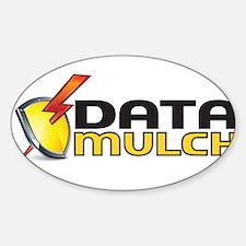 Unique Data shield Sticker (Oval)