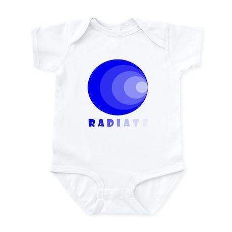 Vintage Retro Radiate Infant Bodysuit