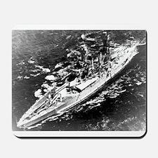 USS West Virginia Ship's Image Mousepad