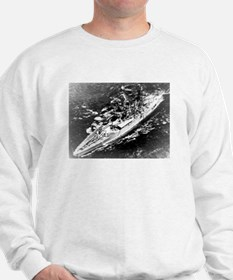 USS West Virginia Ship's Image Sweatshirt