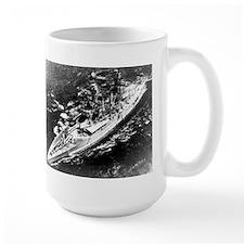 USS West Virginia Ship's Image Mug
