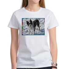 Funny Border collies blue merle Tee