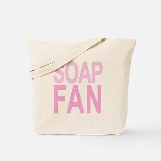 Soap Fan 80s Pink Tote Bag