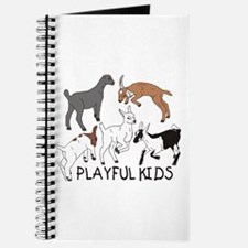 Playful Goat Kids Journal