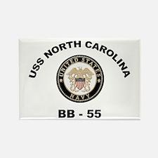 USS North Carolina BB 55 Rectangle Magnet