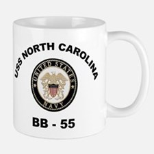 USS North Carolina BB 55 Mug