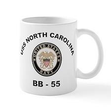 USS North Carolina BB 55 Mug