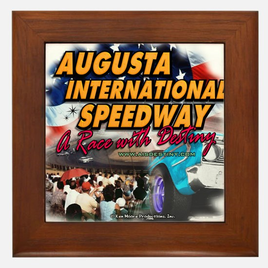 Unique Stock car racing Framed Tile
