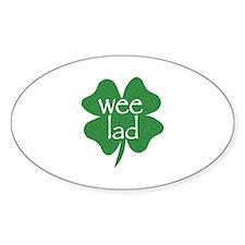 Wee Lad Irish Decal