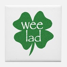 Wee Lad Irish Tile Coaster