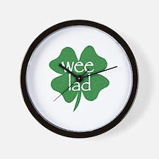 Wee Lad Irish Wall Clock