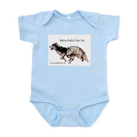 We're Pullin' For Ya! Infant Creeper