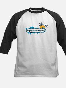 Cape Charles VA - Surf Design Tee