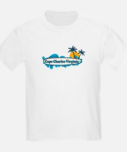 Cape Charles VA - Surf Design T-Shirt