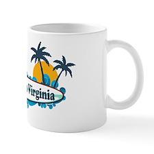 Cape Charles VA - Surf Design Mug