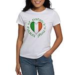 Tricolour Heart Women's T-Shirt