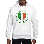 Tricolour Heart Hooded Sweatshirt