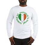 Tricolour Heart Long Sleeve T-Shirt