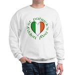 Tricolour Heart Sweatshirt