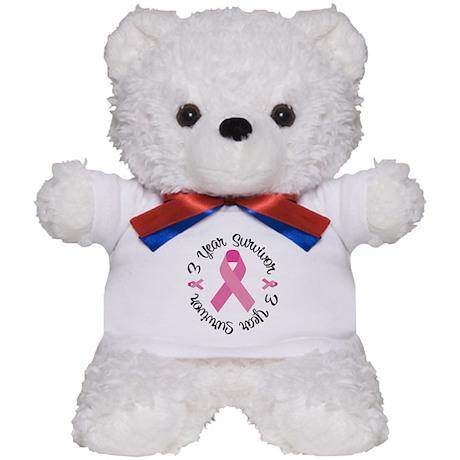 3 Year Survivor Teddy Bear