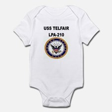 USS TELFAIR Infant Creeper