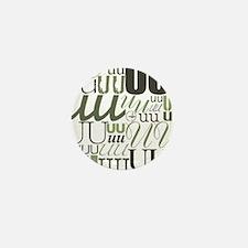 UU Typography (Sage) Mini Button