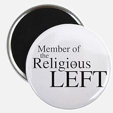 """Religious LEFT 2.25"""" Magnet (10 pack)"""
