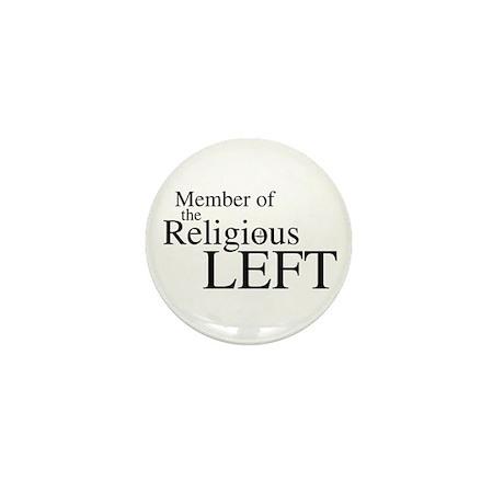Religious LEFT Mini Button (10 pack)