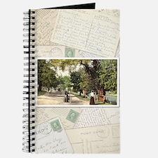 Notebook - Postcard collage - vertical