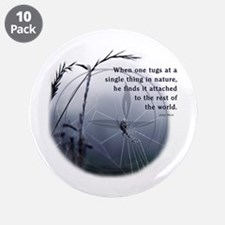 "UU - Web of Life 3.5"" Button (10 pack)"